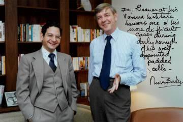 Neil Grauer and Russell Baker