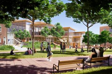 Hopkins Student Center concept rendering