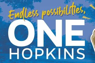 One Hopkins graphic