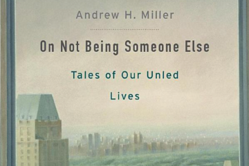 Book cover  of 'On Not Being Someone Else'