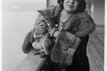 Ponselle with a fox