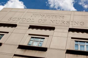 School of Nursing facade