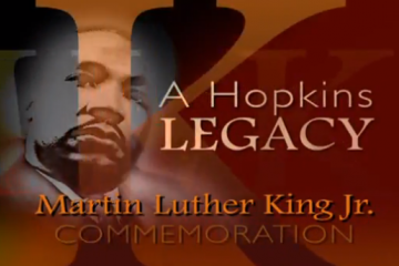 MLK Jr. Commemoration at Johns Hopkins