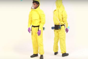 Personal protective equipment prototype