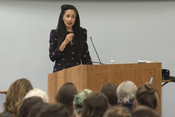 Zadie Smith reads from her upcoming novel