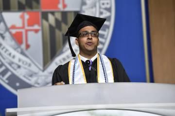 Commencement speaker Zanir Habib