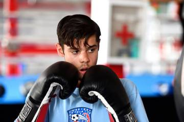 Jack Simone works at boxing gym Corner Team, Inc.