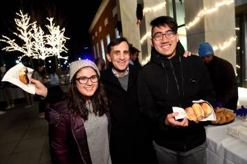 From The Hub: Go nuts for donuts: Students get a pastry break before finals begin