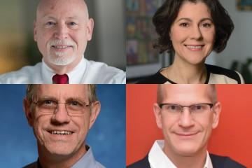 Alan Scott, Beverly Wendland, Michael Matunis, and Kevin Hemker