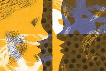Caregiving behind a mask