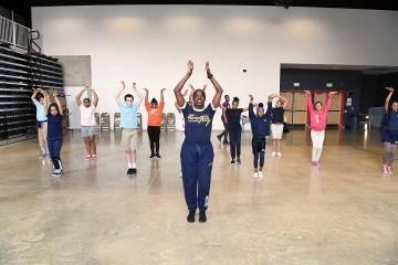Ailey dancers