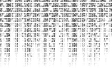 Algorithm binary cascade of 0s and 1s