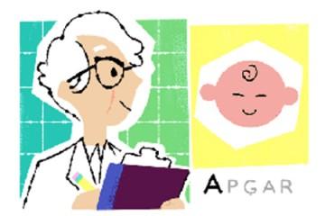 virginia apgar google doodle