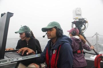 Three operators on boat