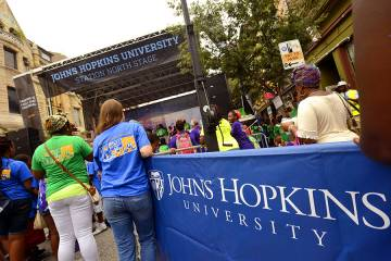 The Johns Hopkins University Station North Stage at Artscape 2016
