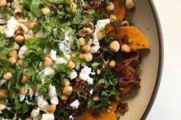 Café Azafrán's beet salad