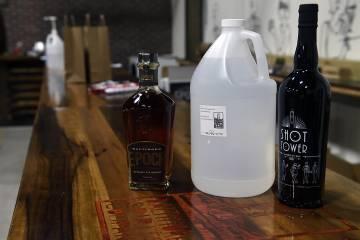 Baltimore Spirits Company hand sanitizer