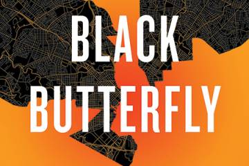 cover image for Lawrence Brown's new book, The Black Butterfly