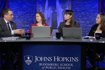 Johns Hopkins University experts discuss coronavirus