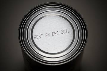 Can with expiration date