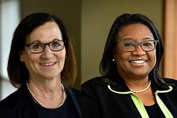 Miki Goodwin and Gloria Ramsey