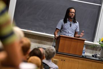 From The Hub: A writer's DNA: Pulitzer Prize-winning author Colson Whitehead discusses his influences, career path