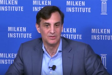 Milken conference panel discussion