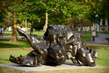 Willem de Kooning's Reclining Figure