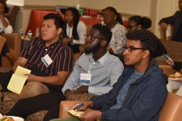 From The Hub: Program brings prospective grad students from diverse backgrounds to Homewood