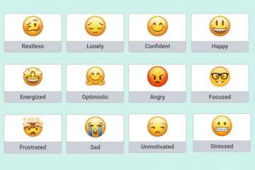 Emoji used in app for K-12 students