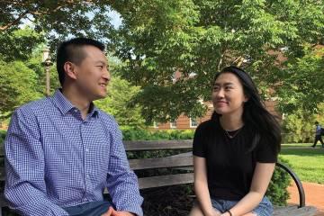 John Ji and Anna Yang