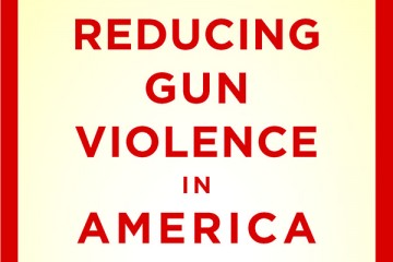 Text reads 'Reducing Gun Violence in America'