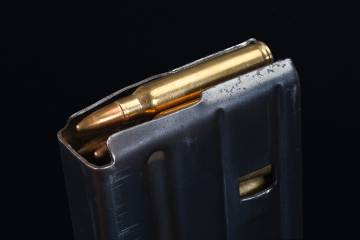 High capacity rifle magazine
