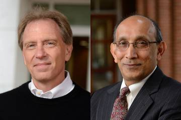 Gregory Hager and K.T. Ramesh