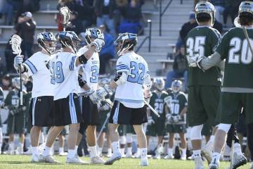 Hopkins Loyola lacrosse
