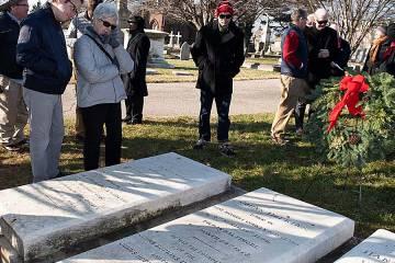 Johns Hopkins' tombstone