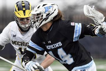 Hopkins vs. Michigan men's lacrosse