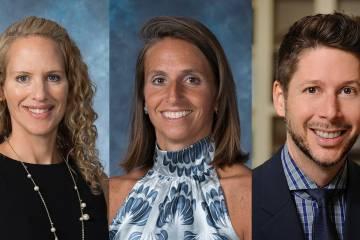 Jennifer Baker, Alanna Shanahan, Kevin Shollenberger