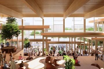 Homewood Student Center conceptual rendering