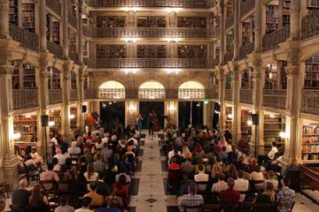In the Stacks performance at George Peabody Library