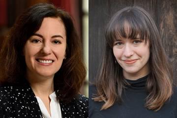 Lori Beth Finkelstein and Michelle Fitzgerald