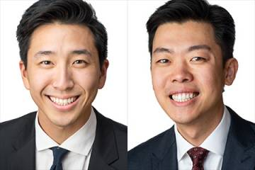 Justin Lee and Eric Song