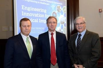 Ed Schlesinger, Gregory Hager, and Michael Klag