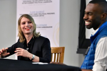 Chelsea Manning and DeRay Mckesson