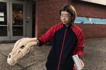 From The Hub: Making faces in class: Course challenges students to create an array of masks