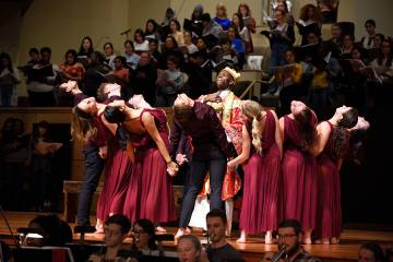 From The Hub: Peabody performers help bring Bernstein's mammoth 'Mass' to life