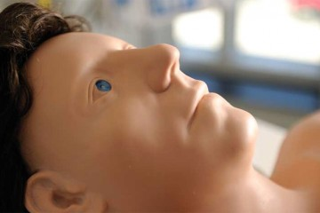 High-tech simulation mannequin