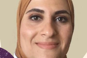 head shot of Doaa Megahed
