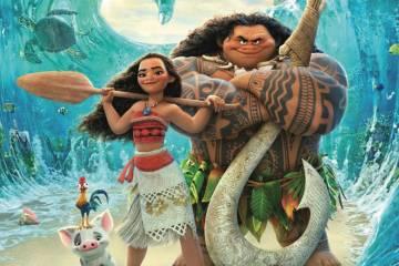 'Moana' movie poster