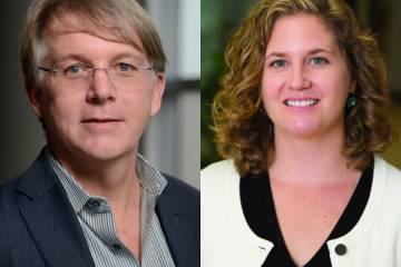 Bill Moss and Jennifer Nuzzo